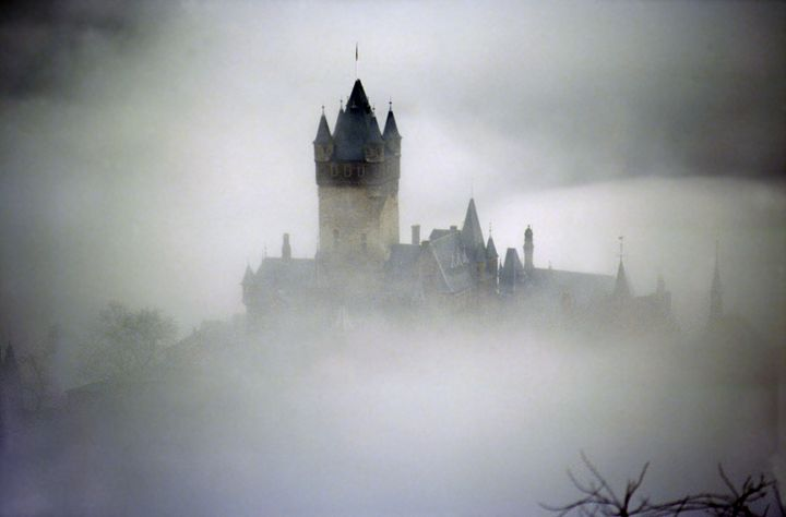 Out of the mist - Cochem Castle - Rod Jones Photography
