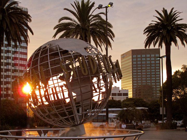 The Universal Studios globe - Rod Jones Photography