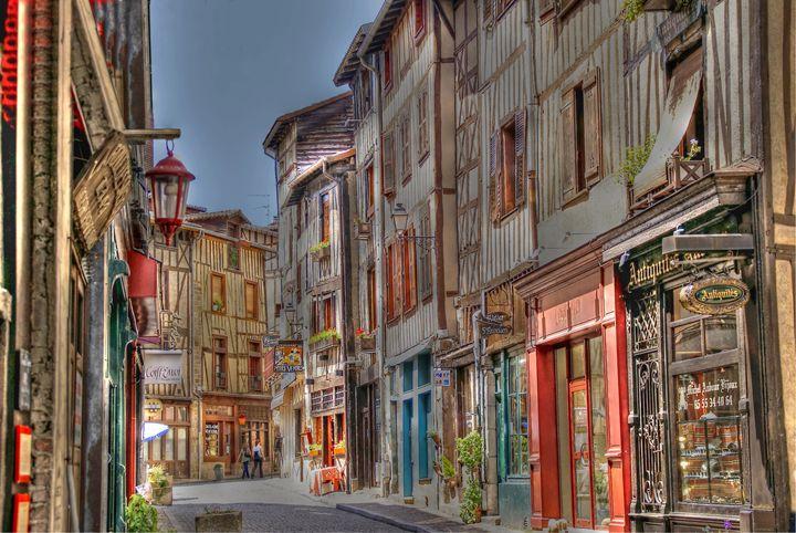 Rue de la Boucherie, Limoges - Rod Jones Photography