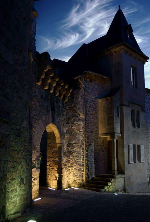 Mediaeval fortified wall - Rod Jones Photography