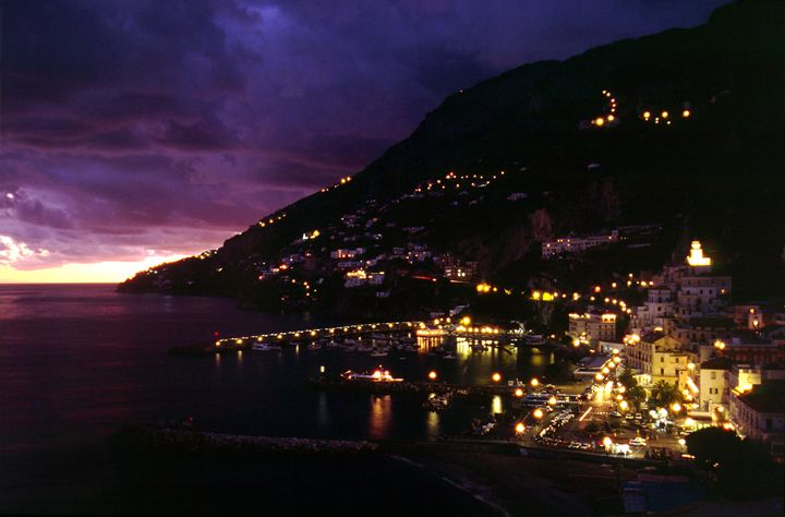 Amalfi in the twilight. - Rod Jones Photography
