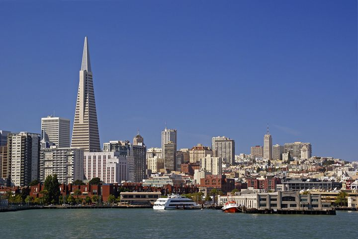 The San Francisco skyline - Rod Jones Photography