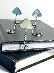 Wire Mushroom Bookmarks
