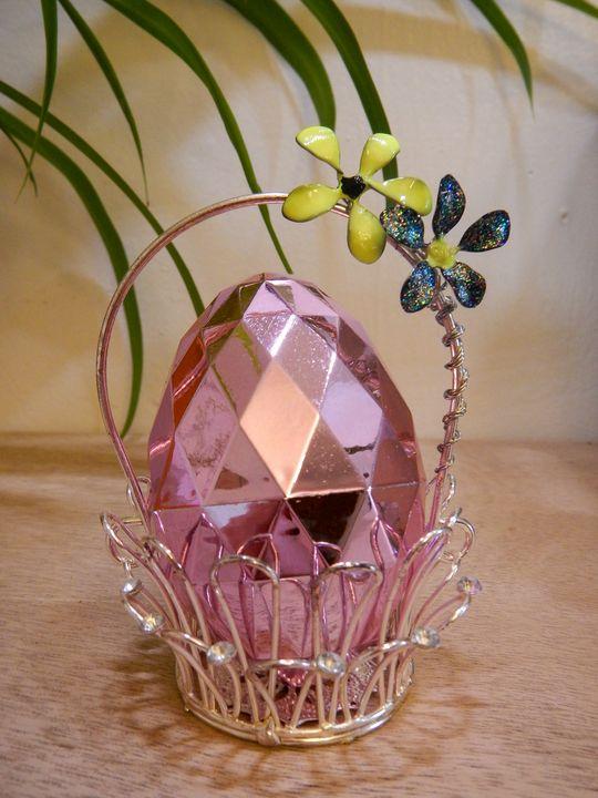 Forever Flower- Egg Basket - Nature Up Design