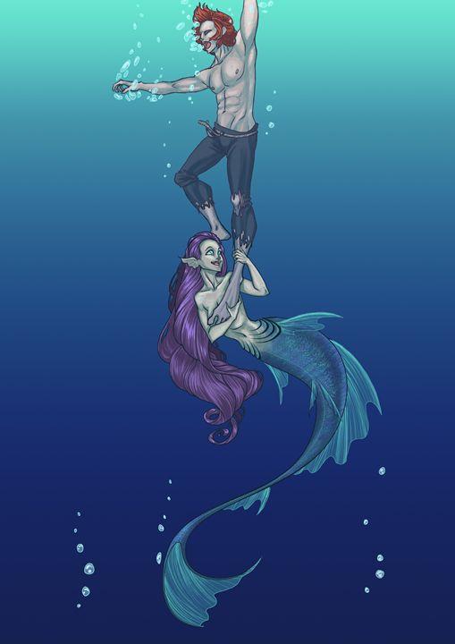 Mermaid - Powered By Coke Zero