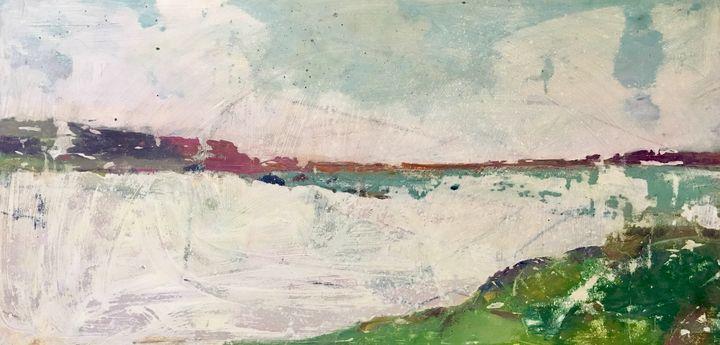 THE BEACH - Kate Kelvin Art