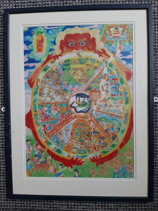 The wheel of life - Mr Seth Williams