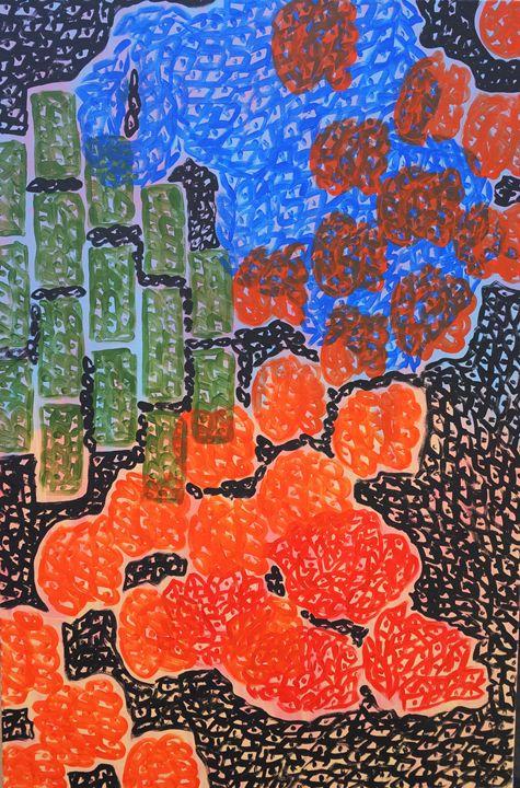 Universe Rose - Michael Dang Art