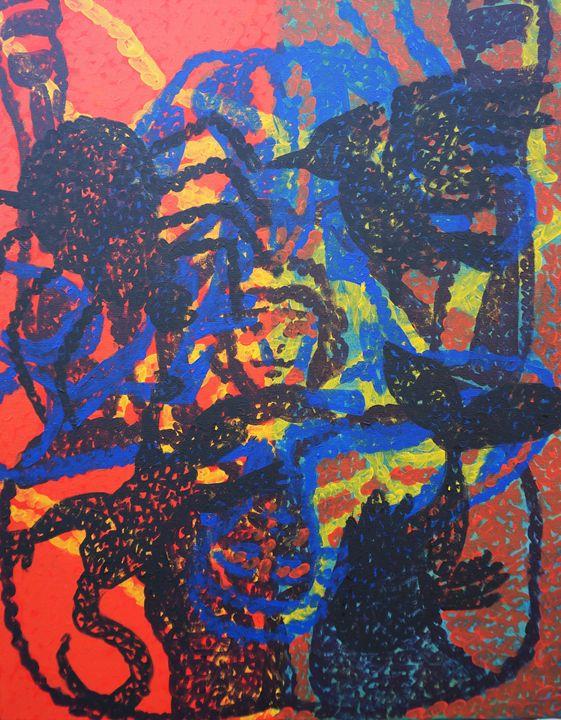 Vibrant Presence - Michael Dang Art