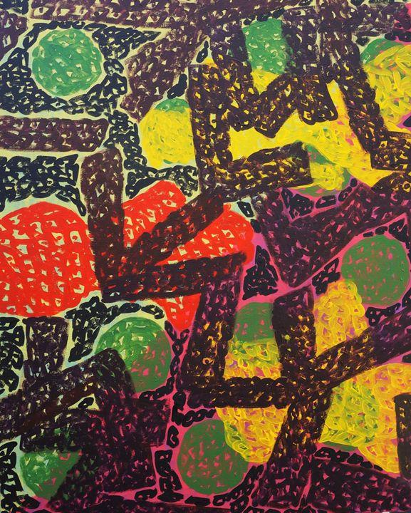 Happy Dot - Michael Dang Art
