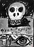 original drawing, ink