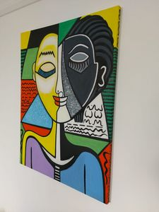 HARMONY - PICASSO INSPIRED CANVAS.