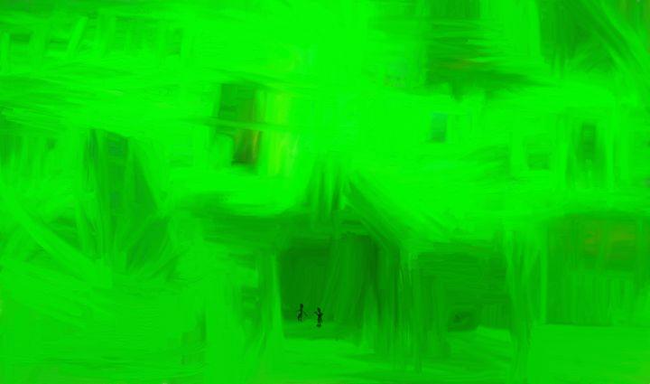 Green chambers - Oddbjorn Sorvik Gallery