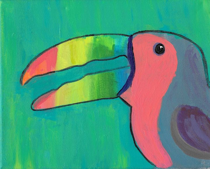 toucan in jungle - Zee Artiste