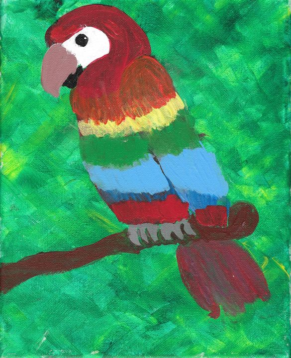 Our Macaw - Zee Artiste