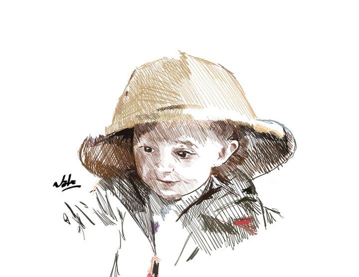 Ella - Peculiar art by Nate