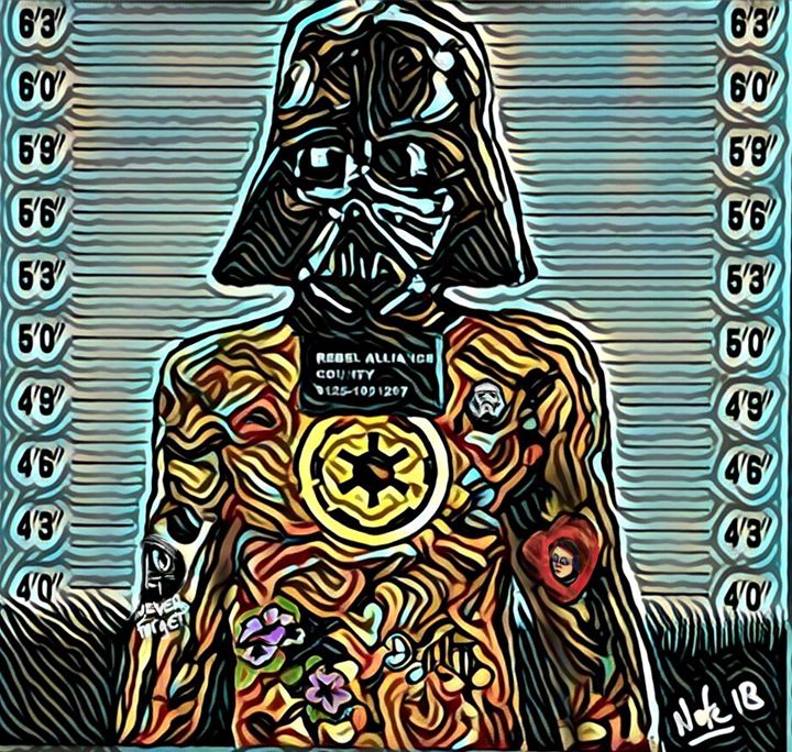 Darth - Peculiar art by Nate