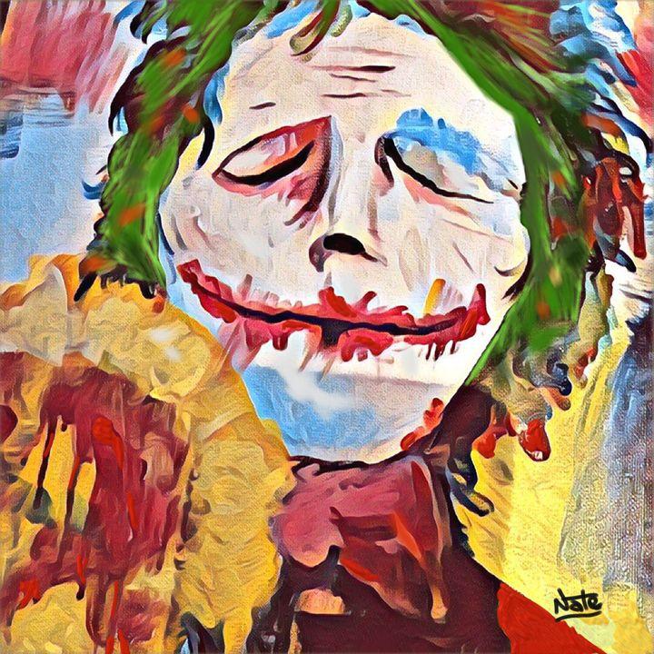 joker - Peculiar art by Nate