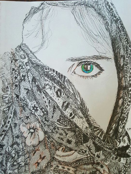 Iseeyou - Peculiar art by Nate