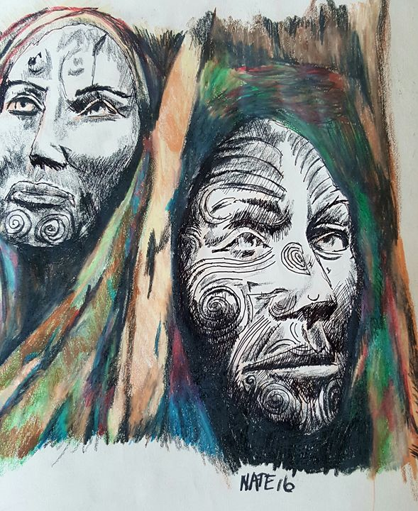 Totem2 - Peculiar art by Nate