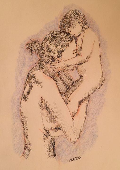 Love - Peculiar art by Nate