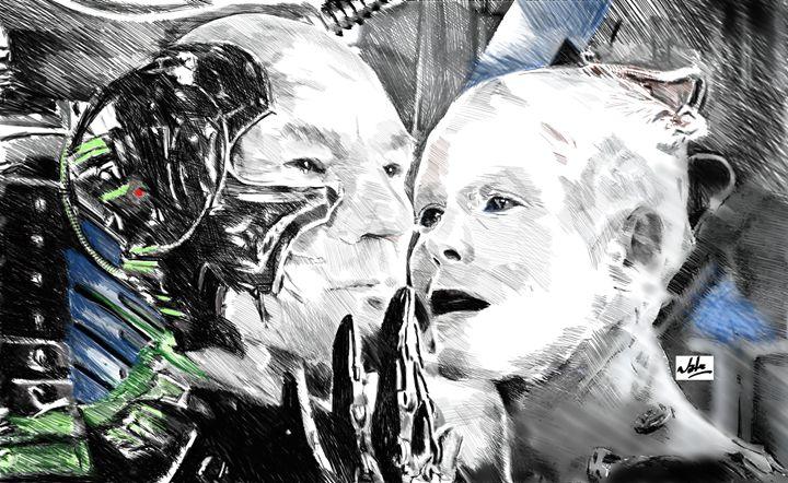 Borg - Peculiar art by Nate
