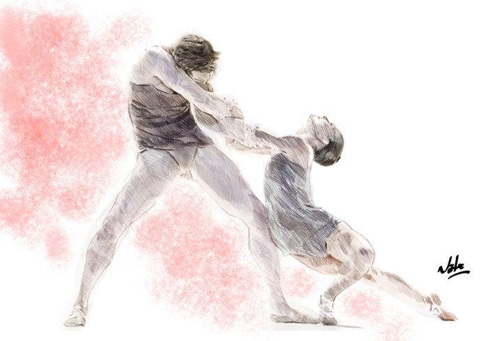 Ballet Tonight - Peculiar art by Nate