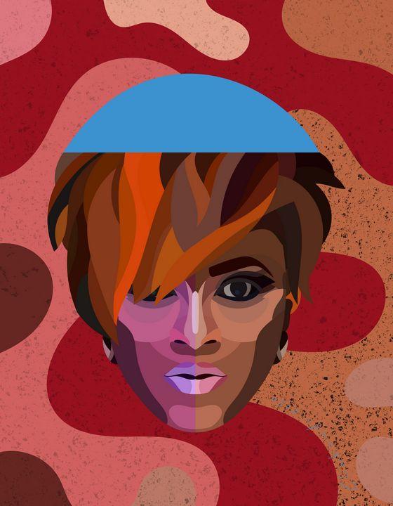 Eva (Textured) - Chukwudi Udoye