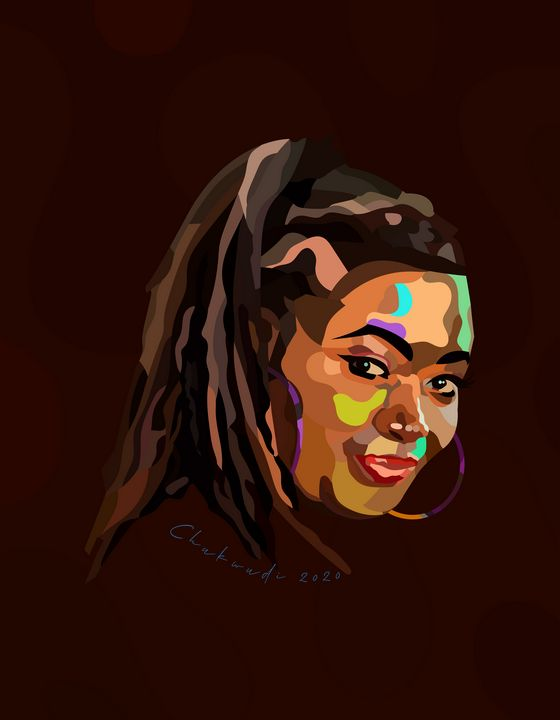 Portrait of a Woman - Chukwudi Udoye