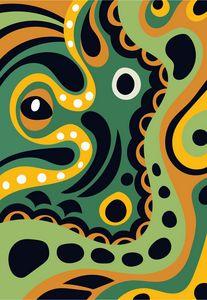 The Playful Octopus