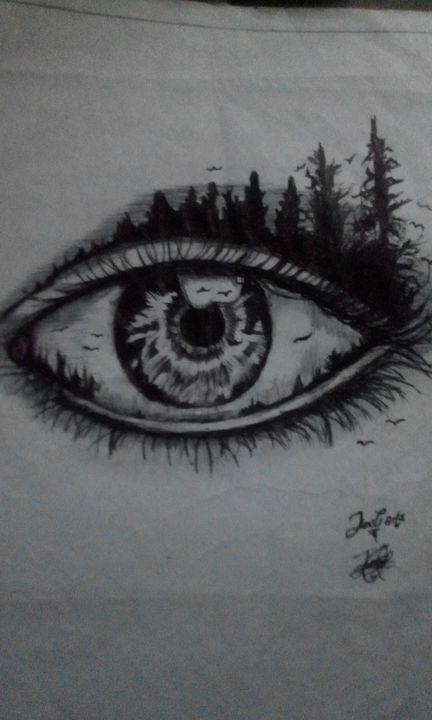 The Golden Eye - Joey arTs