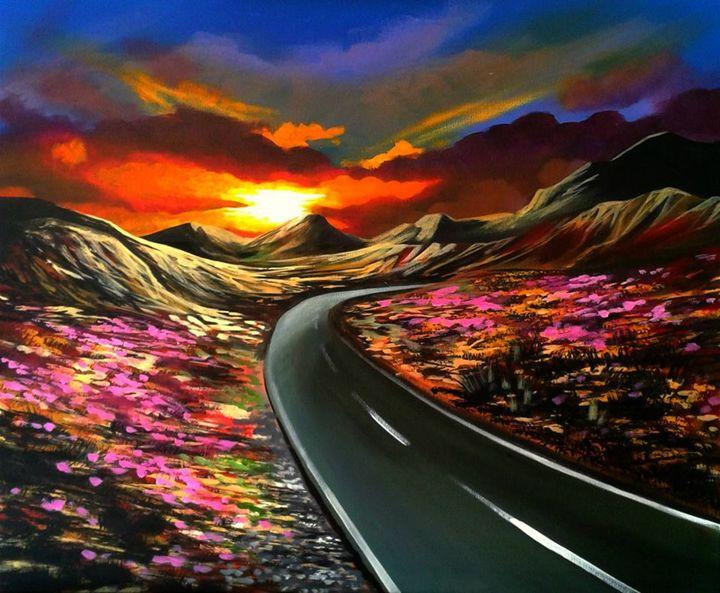 Coming Home Soon - Art by Vikki Hastings