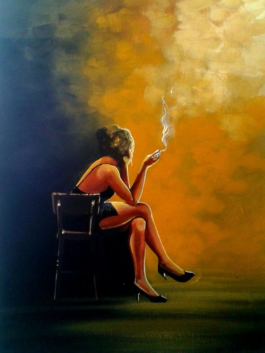 The Waiting Game - Art by Vikki Hastings