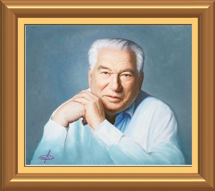 Chinghiz Aytmatov famous writer - Hosil art gallery