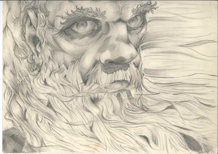 Mythic (pencil) - Jason van Beurden