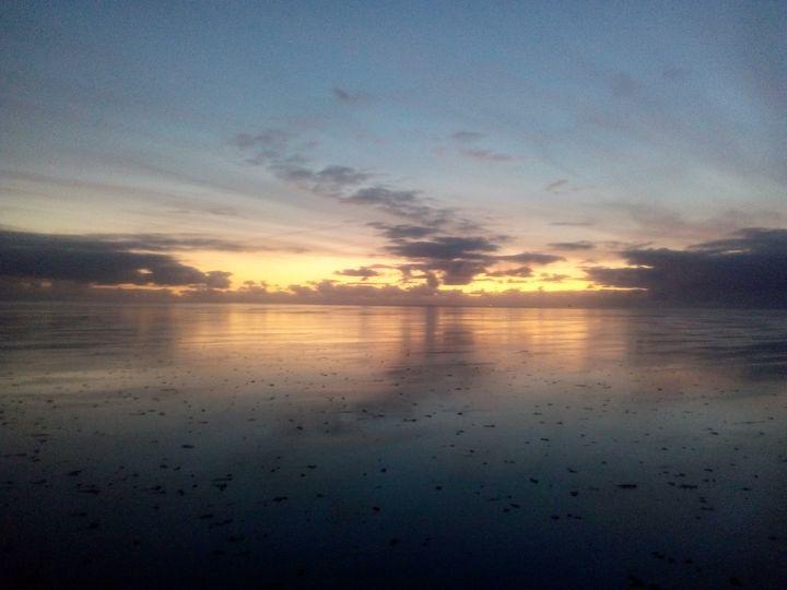 Netherlands sunset - Overhoped