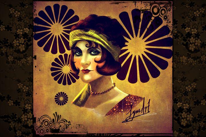 Smoldering Eyes - Art of Lynn Williams