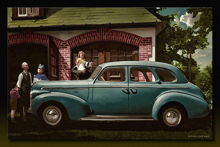 The Brand New 1945 Chevy - Richard Gerhard