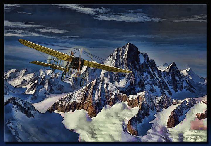 Traversing the Alps - Richard Gerhard