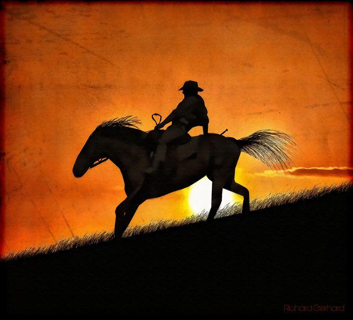 Sunset Ride - Richard Gerhard
