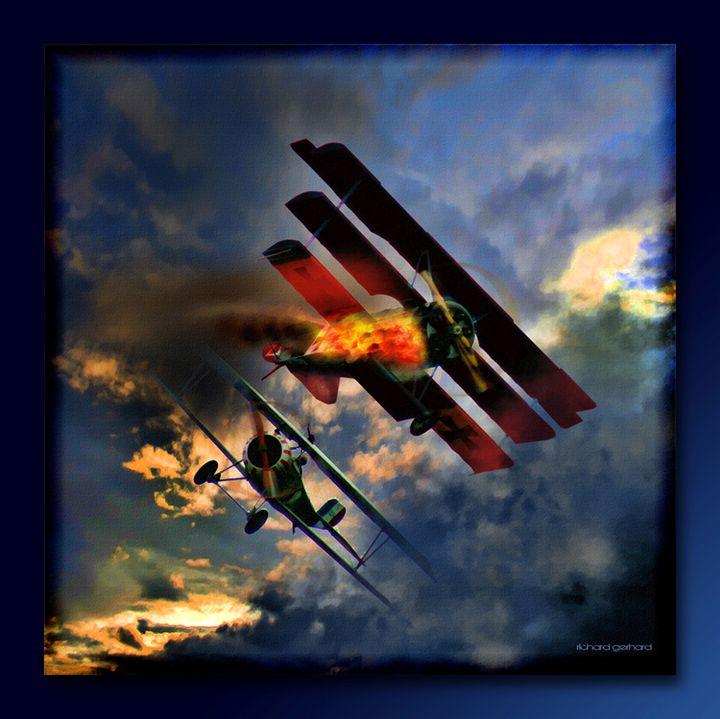 Death of the Red Baron - Richard Gerhard