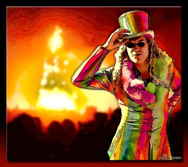 Burning Man - Richard Gerhard