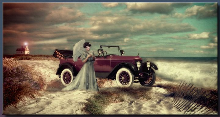 The Drive to the Beach - Richard Gerhard