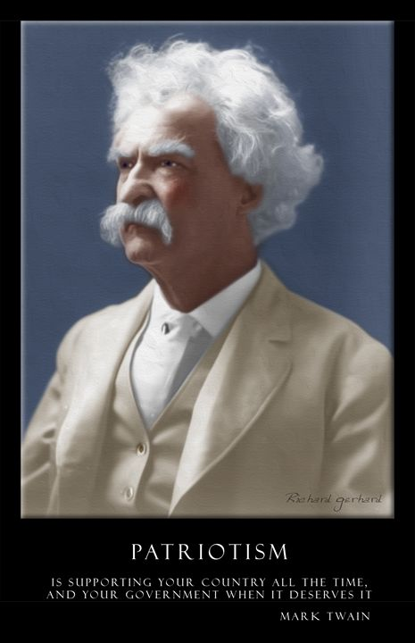 Mark Twain - Richard Gerhard