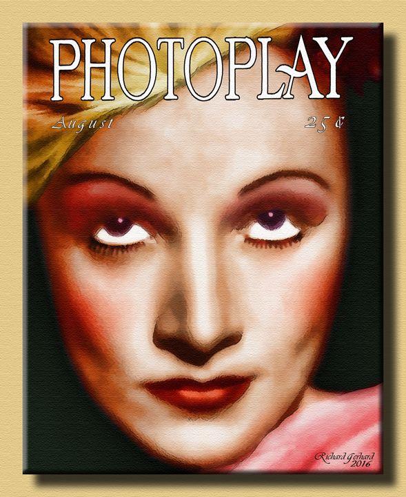 Marlene in Photoplay - Richard Gerhard