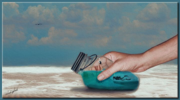 Beachcombing - Richard Gerhard