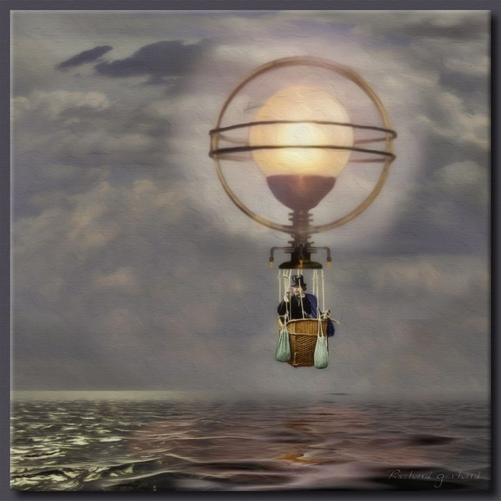 The Steampunk Balloon - Richard Gerhard