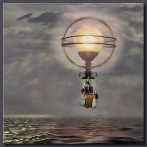 The Steampunk Balloon - Richard Gerhard