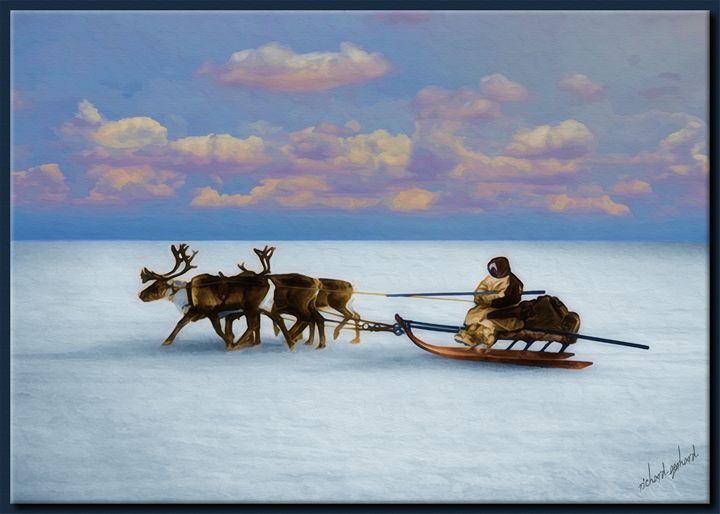 Eskimo Sled - Richard Gerhard
