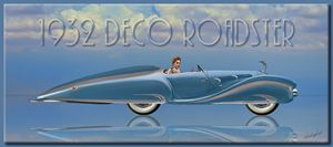 1932 Deco Roadster - Richard Gerhard